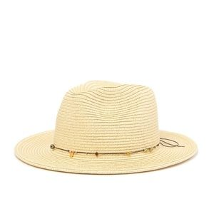 TOMMY BAHAMA Charm Bead Braid Raffia Safari Hat